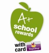 Stop and Shop A plus rewards logo